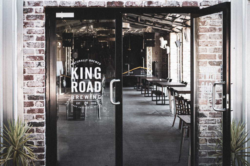 The Hayshed at King Road Brewing Co