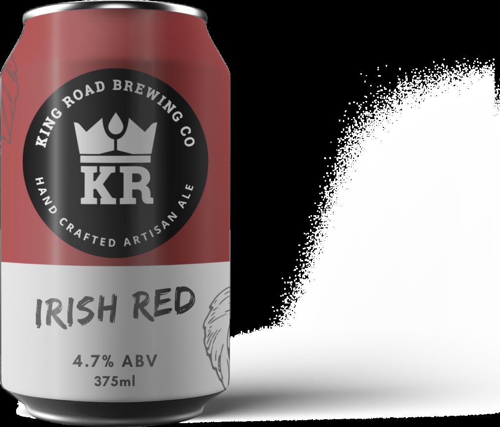 King Road Irish Red 4.7% ABV 375ml